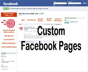 customize facebook fan page