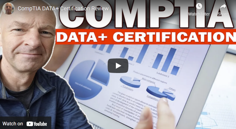 CompTIA Data+ Certification Review